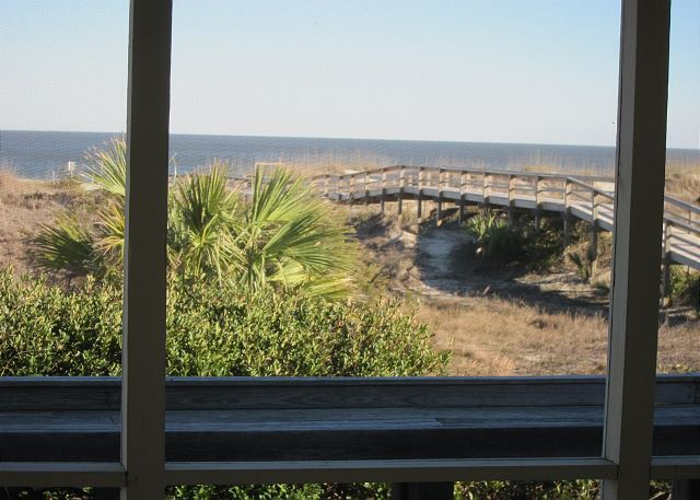 Oceanfront View -Tybee Rental Home