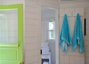 Bead Cottage Bliss - Bathroom Door