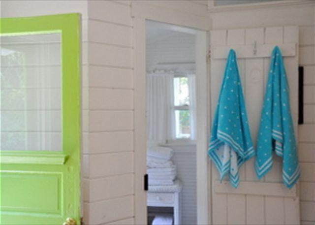 Bead Cottage Bliss - Bathroom Door